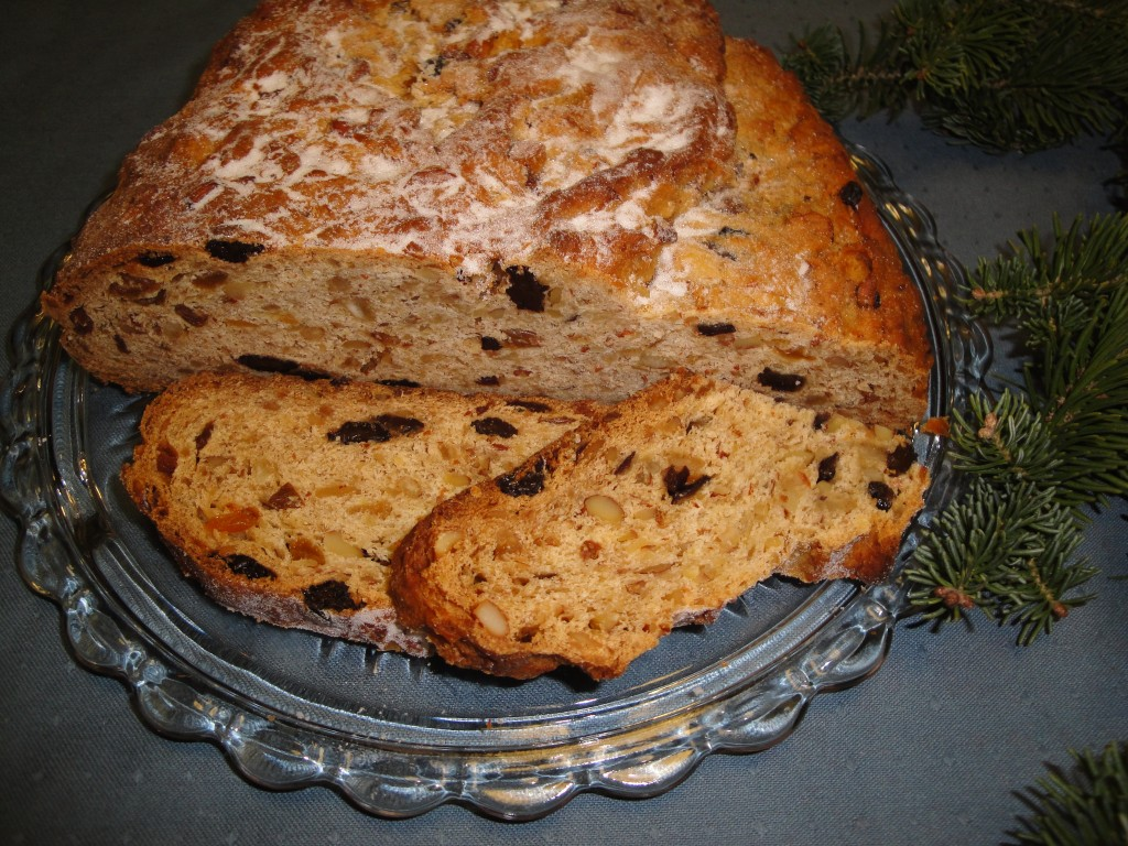 Stollen  2011 version of Oma Kaethe's Stollen recipe from1980